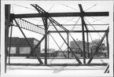 Steel Frame of 2nd Street Bridge Over Railways