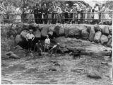 Kids Playing in Minnehaha Creek Near Falls