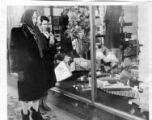Walking Club Members Window Shop in Loop